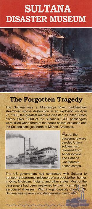 Sultana Disaster Museum