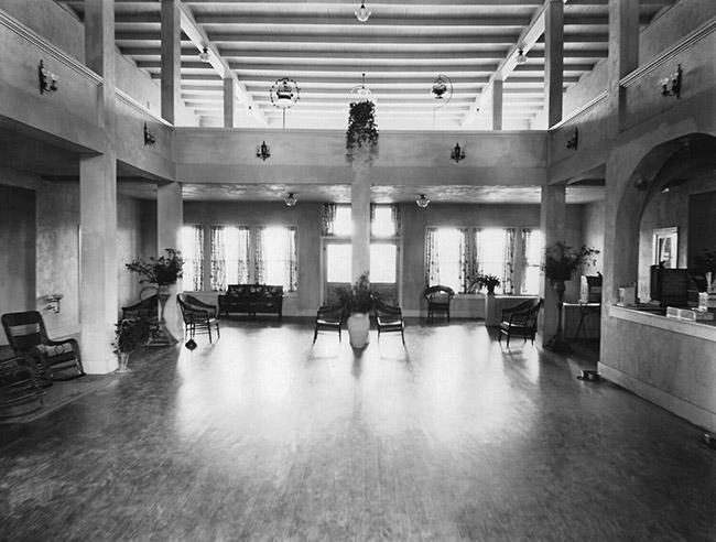 Sunset Hotel Lobby