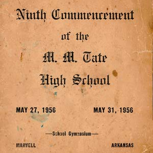 Tate School Commencement