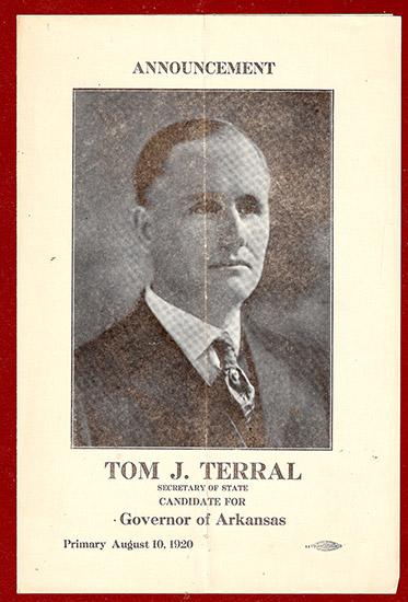 Terral Announcement Speech