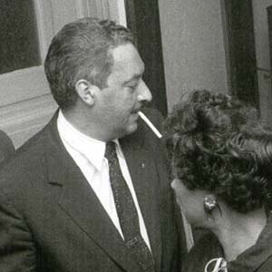 Thurgood Marshall and Central High Students