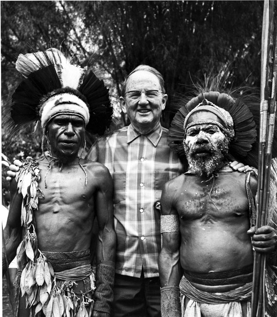 Cameron Townsend in New Guinea