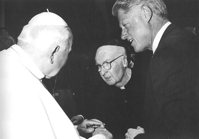 Tribou Meets the Pope