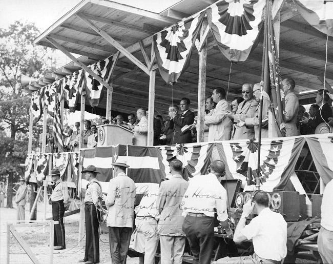 President Truman at Bull Shoals