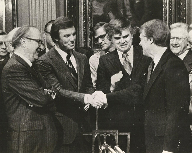 Jim Guy Tucker & President Carter