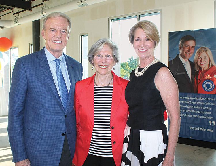 Betty Tucker (center)