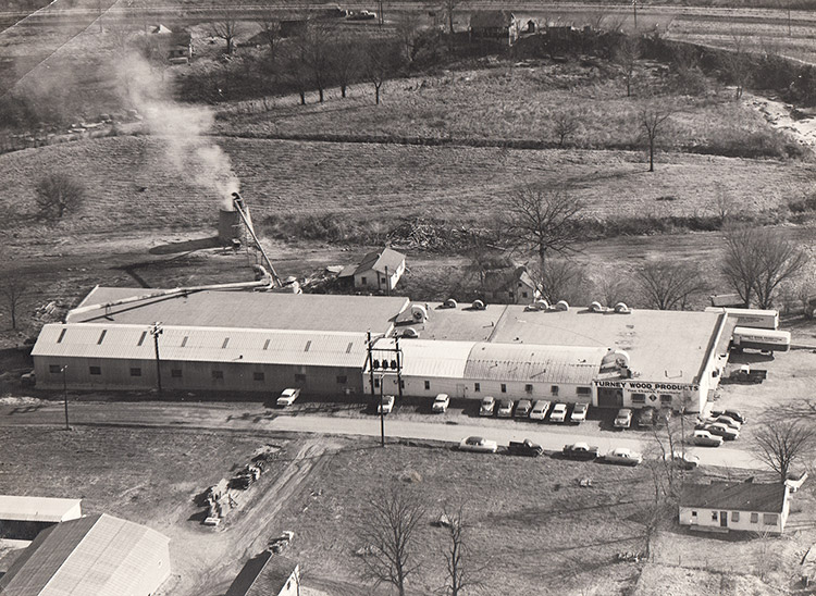 Turney Wood Products Plant