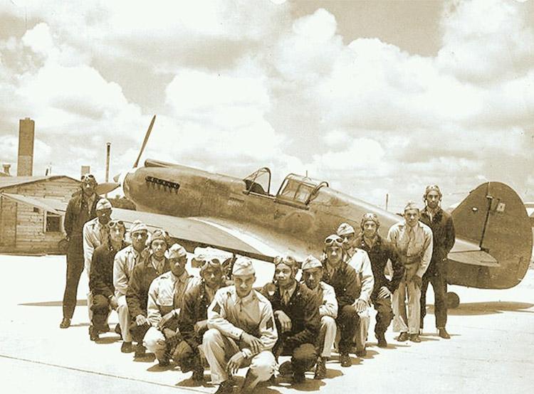 Tuskegee Airmen Class 42-F