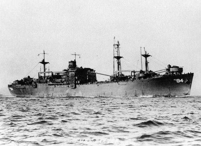 USS Baxter; 1946