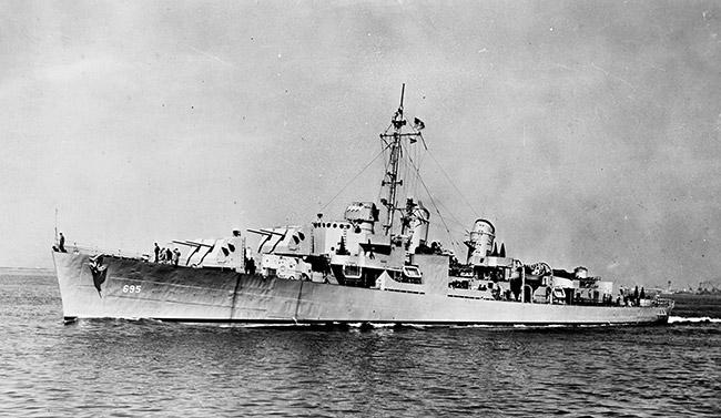 USS Cooper, ca. 1944