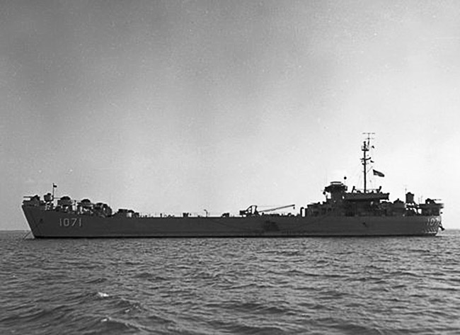 USS Ouachita County (LST-1071)