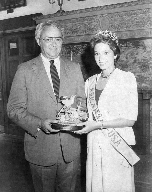 Terri Utley and Frank White