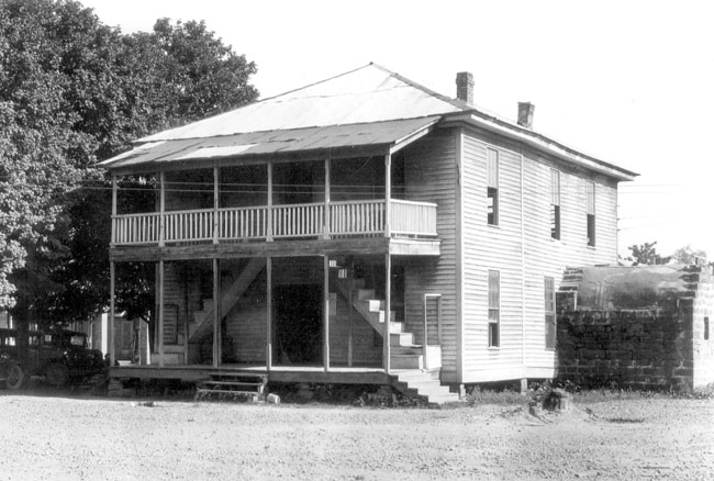 Old Van Buren County Courthouse