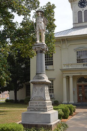 Van Buren Confederate Monument