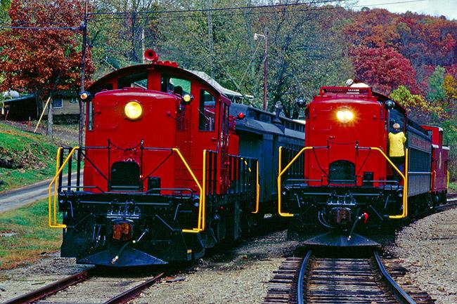 Arkansas and Missouri Railroad Trains
