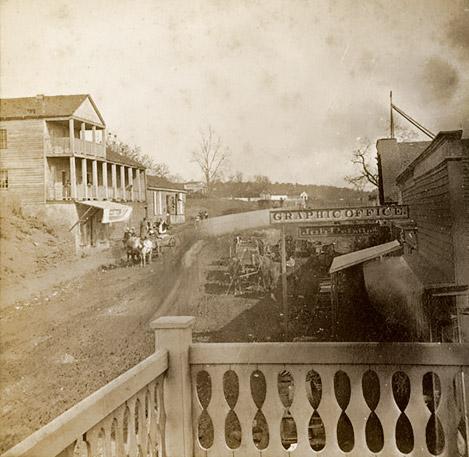 Van Buren: 1880s