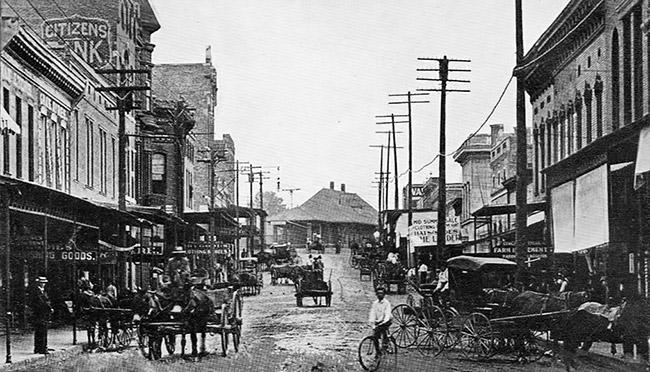 Van Buren: 1890s