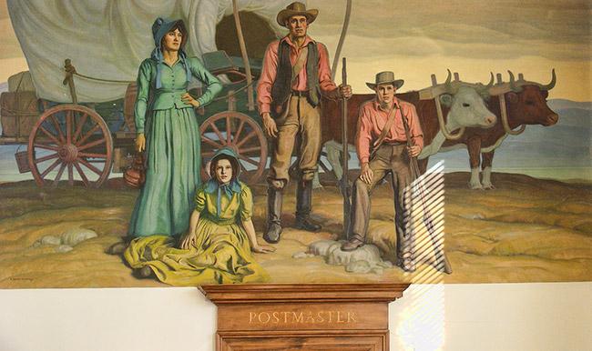 Van Buren Post Office Art