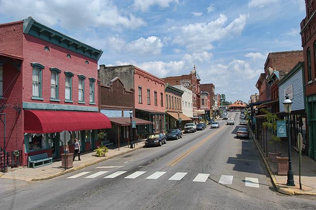 Downtown Van Buren