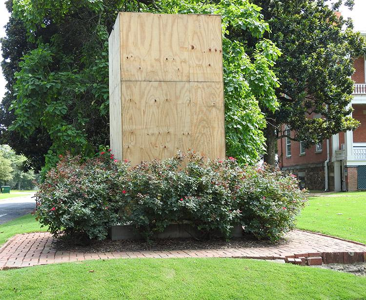 Capitol Guards Memorial Vandalism