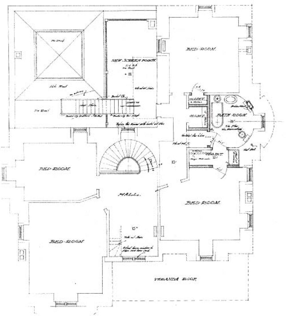 Villa Marre Second Floor