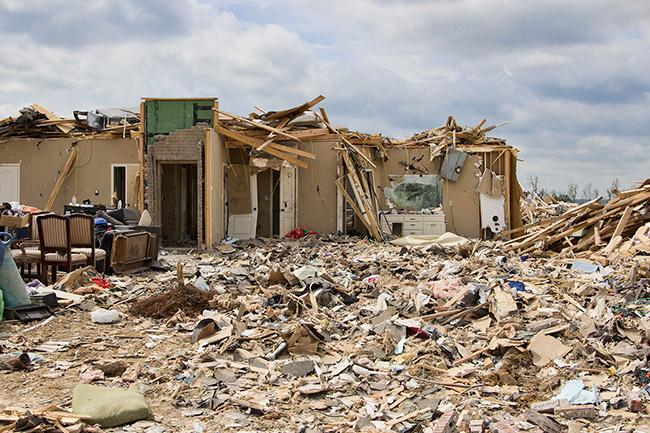 Vilonia Tornado Damage, 2014