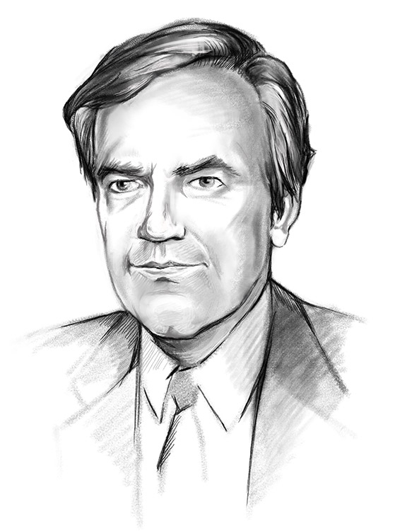 Sketch of Vince Foster