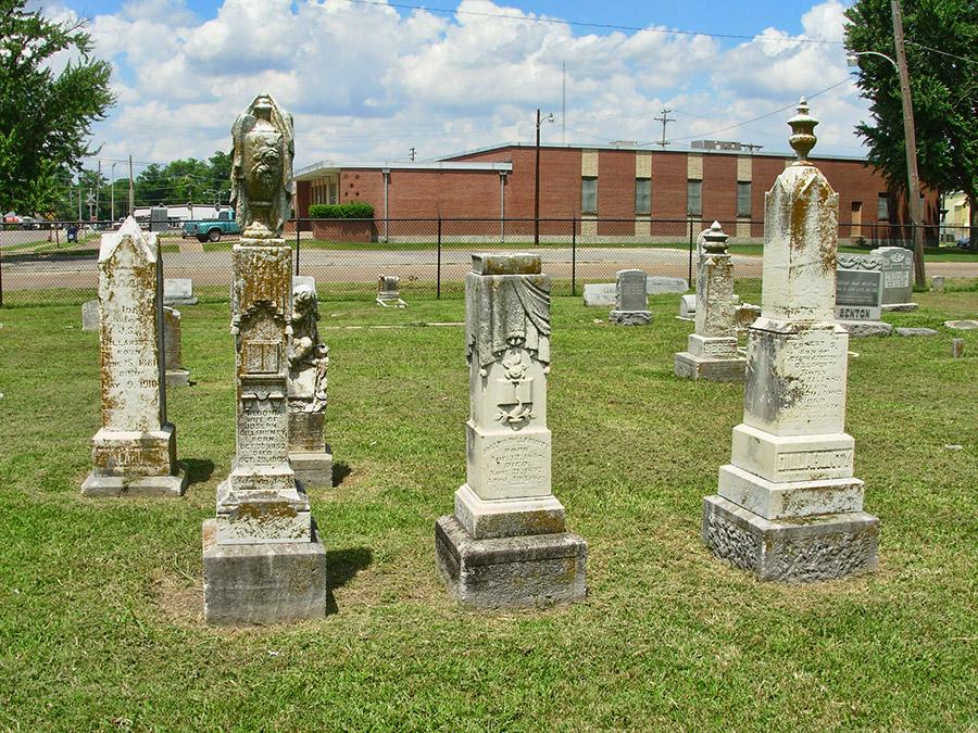 Violet Cemetery Monuments