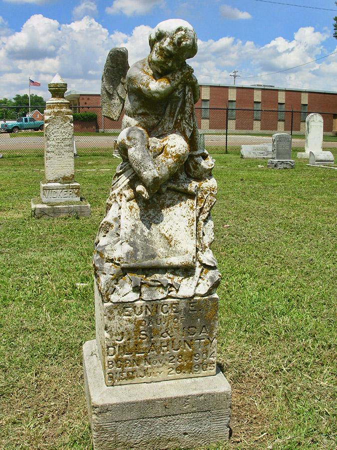 Violet Cemetery Monument