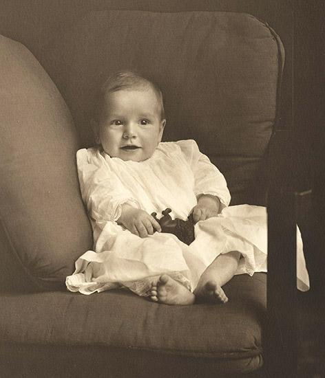 Winthrop Rockefeller Baby Portrait