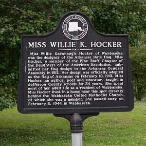 Hocker House Sign