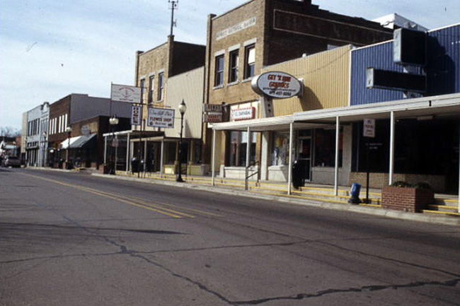 Waldron Commercial Historic District