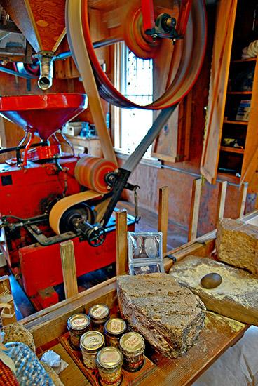 War Eagle Mill Interior