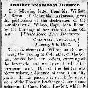J. Wilson Disaster
