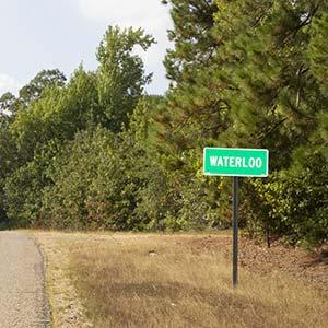 Entering Waterloo