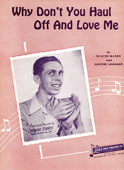 Wayne Raney Sheet Music
