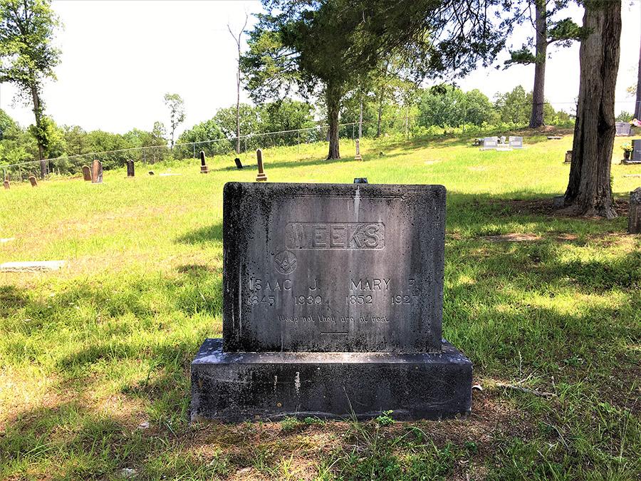 Weeks Headstone