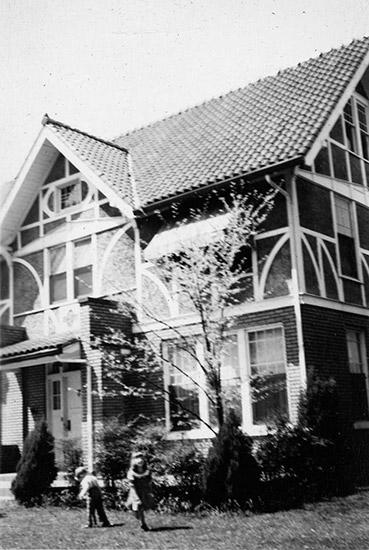 John F. Weinmann House, 1951