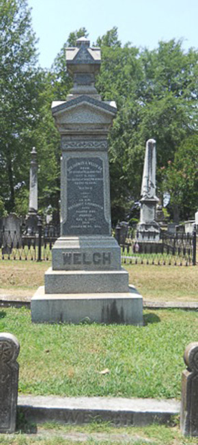 Thomas Welch Grave