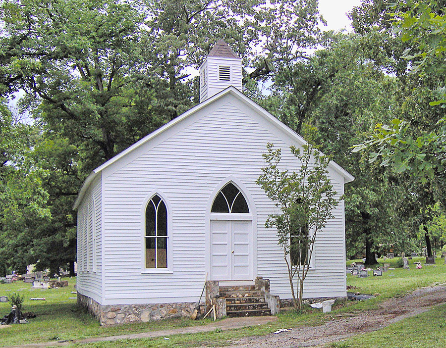 Williford Methodist Church after Restoration
