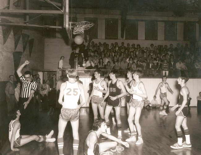 Williford Basketball; 1972
