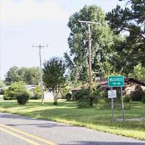 Entering Willisville