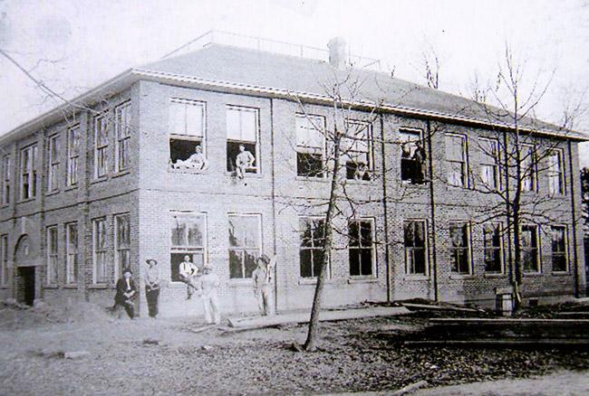 Winthrop School Construction