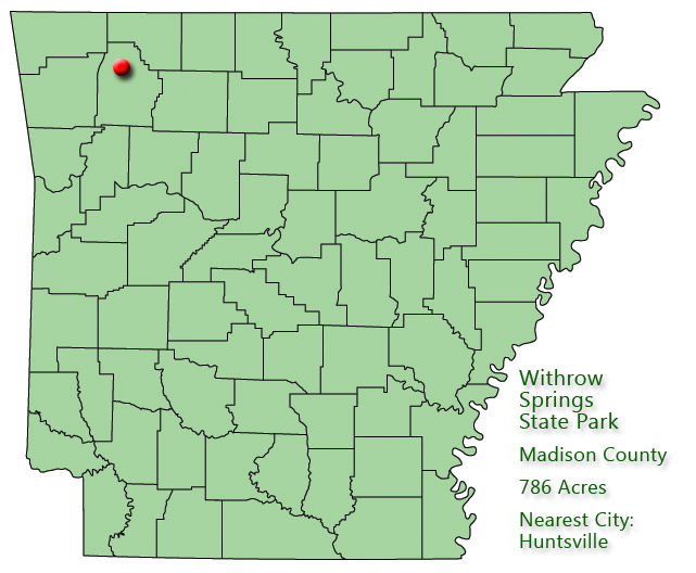 Withrow Springs State Park: Park Location