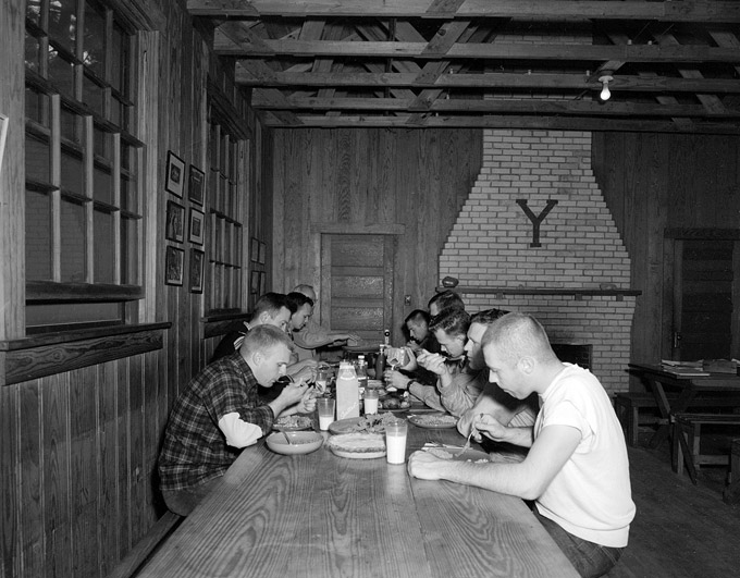 Yale Camp Dining Room