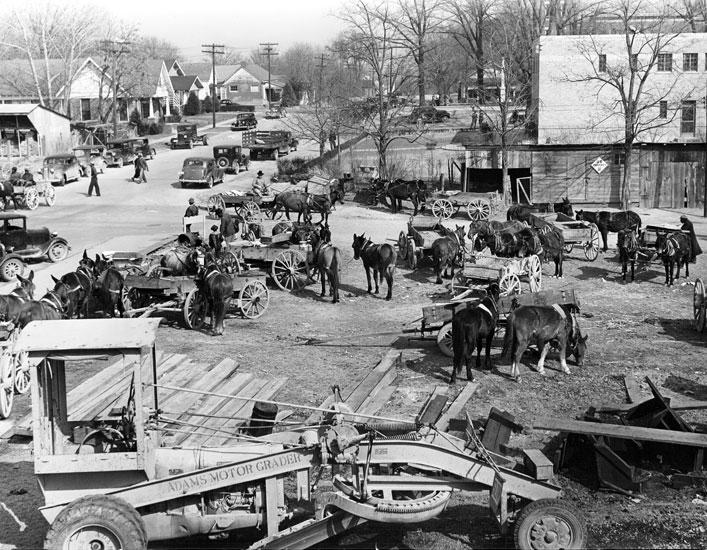 Arkadelphia: Wagon Lot