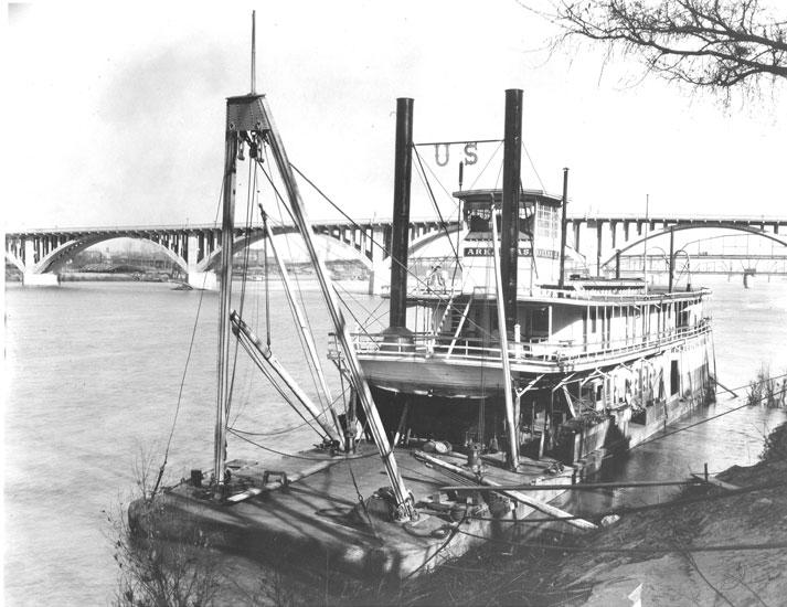 Snag boat Arkansas