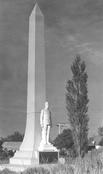 Herman Davis Monument