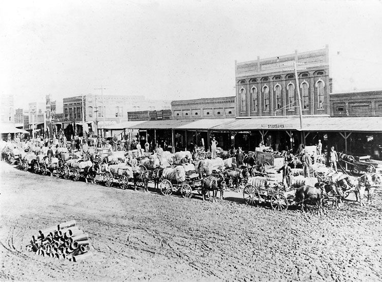 Conway: Cotton Wagons