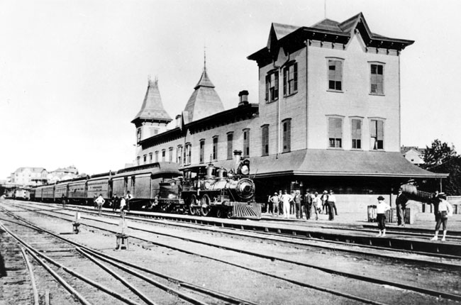 Little Rock: Train Depot